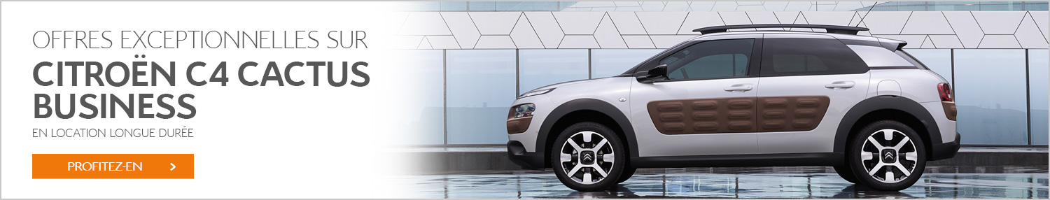 Location citroen C4 Cactus Business