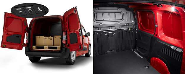 Berlingo Van grande capacité de chargement