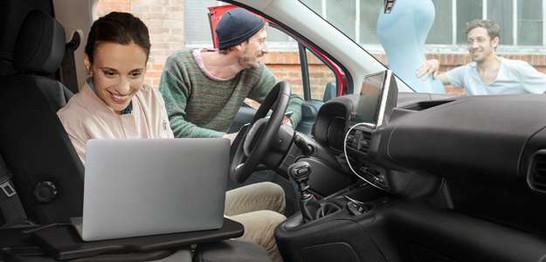 Berlingo Van Bureau Mobile